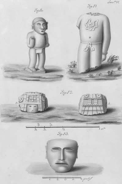 Coleccion General de Laminas de los Antiguos Monumentos de Nueva Espana - Segundo Viage - Lamina 15 (1820)