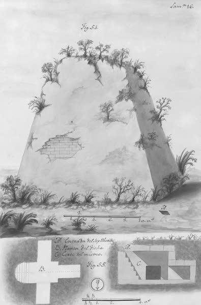 Coleccion General de Laminas de los Antiguos Monumentos de Nueva Espana - Segundo Viage - Lamina 16 (1820)