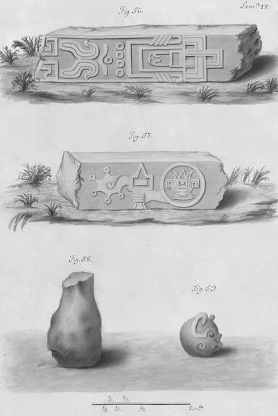 Coleccion General de Laminas de los Antiguos Monumentos de Nueva Espana - Segundo Viage - Lamina 17 (1820)
