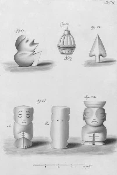Coleccion General de Laminas de los Antiguos Monumentos de Nueva Espana - Segundo Viage - Lamina 18 (1820)