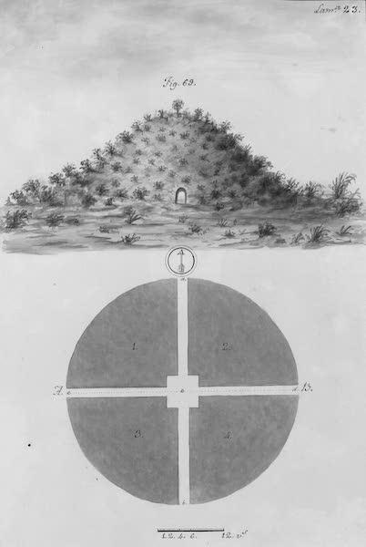 Coleccion General de Laminas de los Antiguos Monumentos de Nueva Espana - Segundo Viage - Lamina 23 (1820)