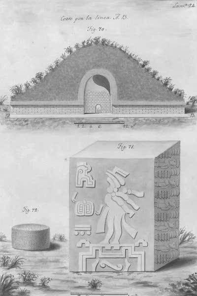 Coleccion General de Laminas de los Antiguos Monumentos de Nueva Espana - Segundo Viage - Lamina 24 (1820)