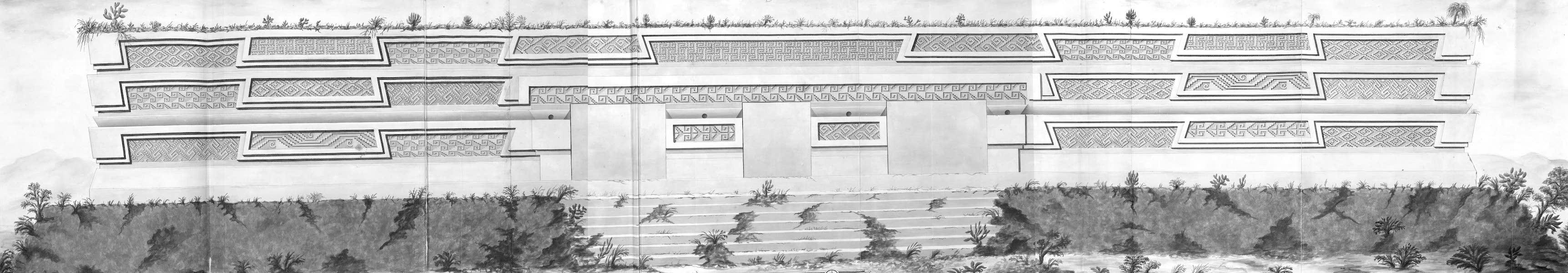 Coleccion General de Laminas de los Antiguos Monumentos de Nueva Espana - Segundo Viage - Lamina 25 (1820)