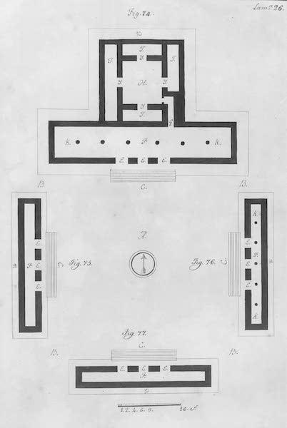 Coleccion General de Laminas de los Antiguos Monumentos de Nueva Espana - Segundo Viage - Lamina 26 (1820)