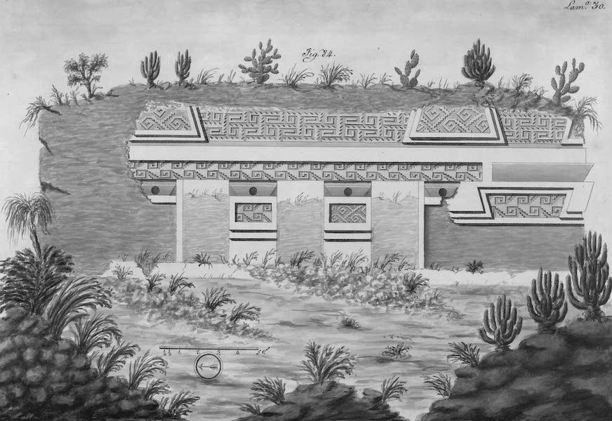 Coleccion General de Laminas de los Antiguos Monumentos de Nueva Espana - Segundo Viage - Lamina 30 (1820)