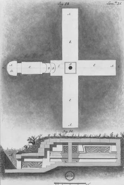 Coleccion General de Laminas de los Antiguos Monumentos de Nueva Espana - Segundo Viage - Lamina 31 (1820)
