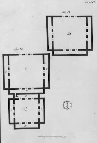 Coleccion General de Laminas de los Antiguos Monumentos de Nueva Espana - Segundo Viage - Lamina 32 (1820)
