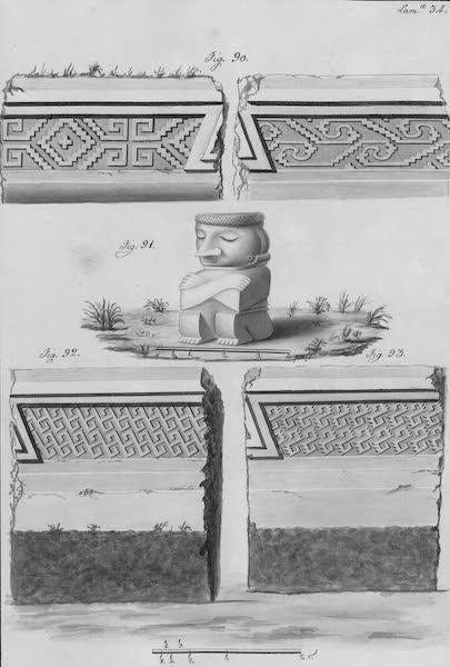 Coleccion General de Laminas de los Antiguos Monumentos de Nueva Espana - Segundo Viage - Lamina 34 (1820)
