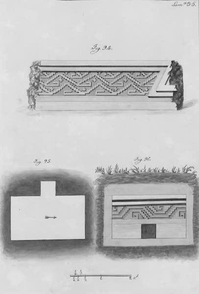 Coleccion General de Laminas de los Antiguos Monumentos de Nueva Espana - Segundo Viage - Lamina 35 (1820)