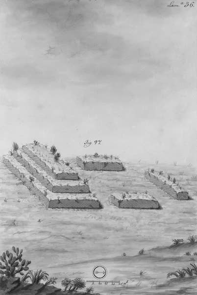Coleccion General de Laminas de los Antiguos Monumentos de Nueva Espana - Segundo Viage - Lamina 36 (1820)