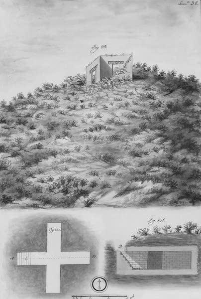 Coleccion General de Laminas de los Antiguos Monumentos de Nueva Espana - Segundo Viage - Lamina 38 (1820)