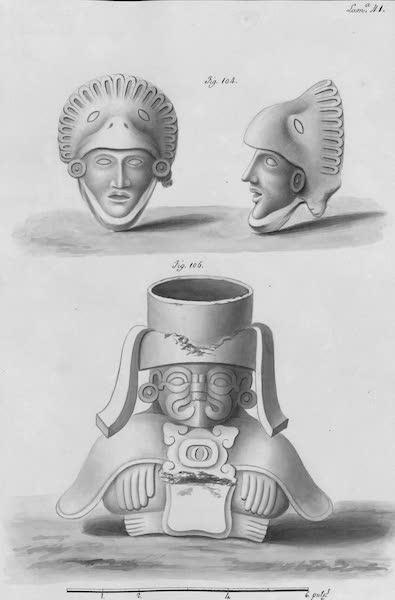 Coleccion General de Laminas de los Antiguos Monumentos de Nueva Espana - Segundo Viage - Lamina 41 (1820)