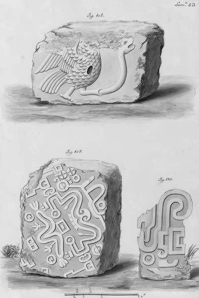 Coleccion General de Laminas de los Antiguos Monumentos de Nueva Espana - Segundo Viage - Lamina 43 (1820)