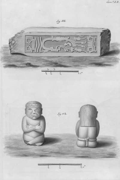 Coleccion General de Laminas de los Antiguos Monumentos de Nueva Espana - Segundo Viage - Lamina 44 (1820)