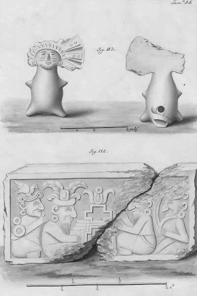Coleccion General de Laminas de los Antiguos Monumentos de Nueva Espana - Segundo Viage - Lamina 45 (1820)