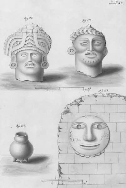 Coleccion General de Laminas de los Antiguos Monumentos de Nueva Espana - Segundo Viage - Lamina 46 (1820)
