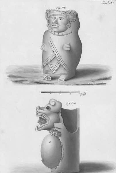 Coleccion General de Laminas de los Antiguos Monumentos de Nueva Espana - Segundo Viage - Lamina 47 (1820)
