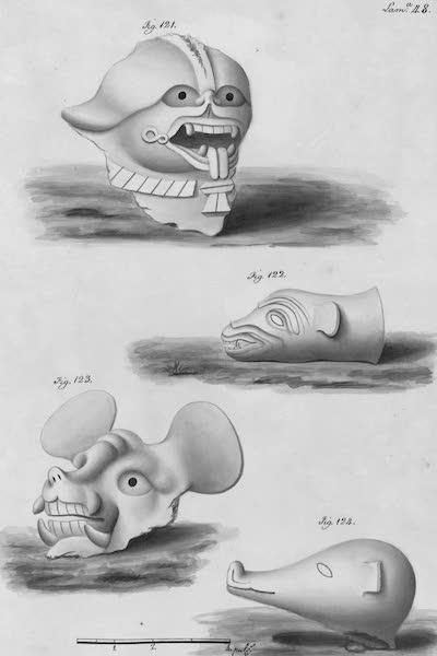 Coleccion General de Laminas de los Antiguos Monumentos de Nueva Espana - Segundo Viage - Lamina 48 (1820)