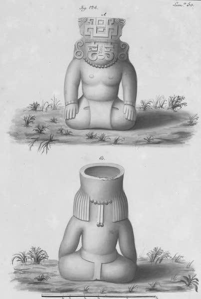 Coleccion General de Laminas de los Antiguos Monumentos de Nueva Espana - Segundo Viage - Lamina 50 (1820)