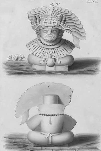 Coleccion General de Laminas de los Antiguos Monumentos de Nueva Espana - Segundo Viage - Lamina 51 (1820)