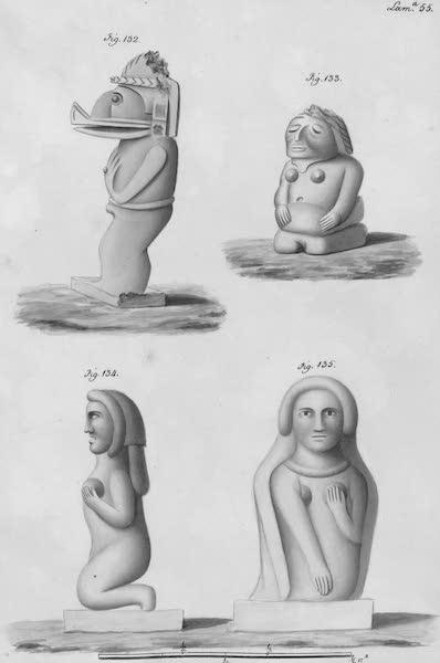 Coleccion General de Laminas de los Antiguos Monumentos de Nueva Espana - Segundo Viage - Lamina 55 (1820)