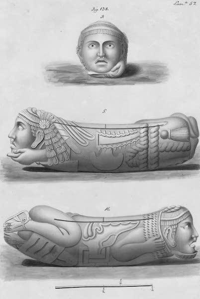 Coleccion General de Laminas de los Antiguos Monumentos de Nueva Espana - Segundo Viage - Lamina 57 (1820)