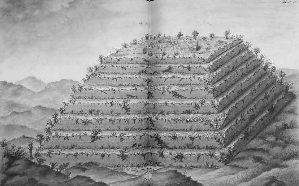 Coleccion General de Laminas de los Antiguos Monumentos de Nueva Espana - Tercer Viage - Lamina 1 (1820)