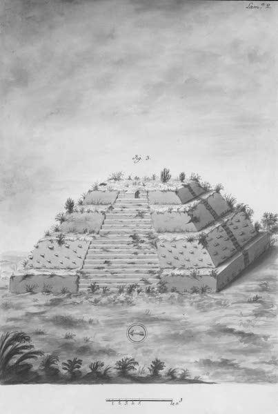 Coleccion General de Laminas de los Antiguos Monumentos de Nueva Espana - Tercer Viage - Lamina 2 (1820)