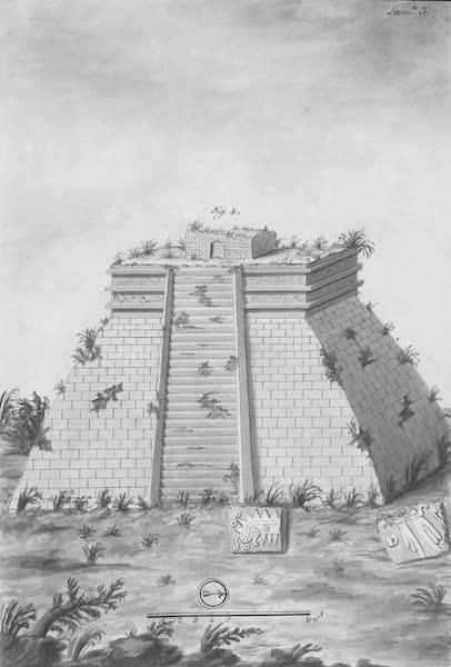 Coleccion General de Laminas de los Antiguos Monumentos de Nueva Espana - Tercer Viage - Lamina 3 (1820)
