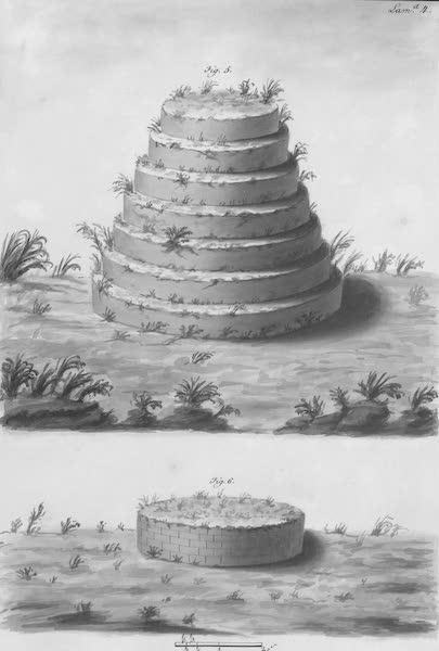 Coleccion General de Laminas de los Antiguos Monumentos de Nueva Espana - Tercer Viage - Lamina 4 (1820)