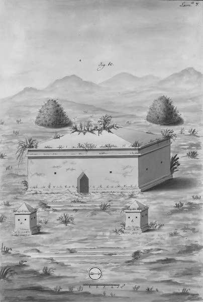 Coleccion General de Laminas de los Antiguos Monumentos de Nueva Espana - Tercer Viage - Lamina 7 (1820)
