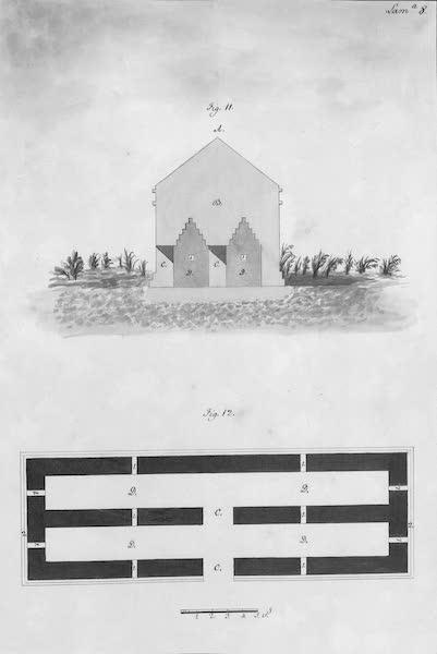 Coleccion General de Laminas de los Antiguos Monumentos de Nueva Espana - Tercer Viage - Lamina 8 (1820)