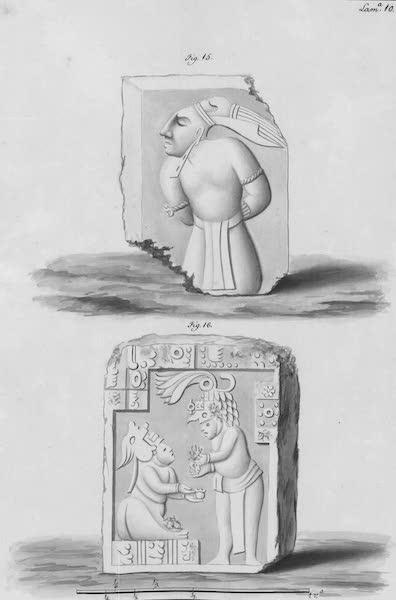 Coleccion General de Laminas de los Antiguos Monumentos de Nueva Espana - Tercer Viage - Lamina 10 (1820)