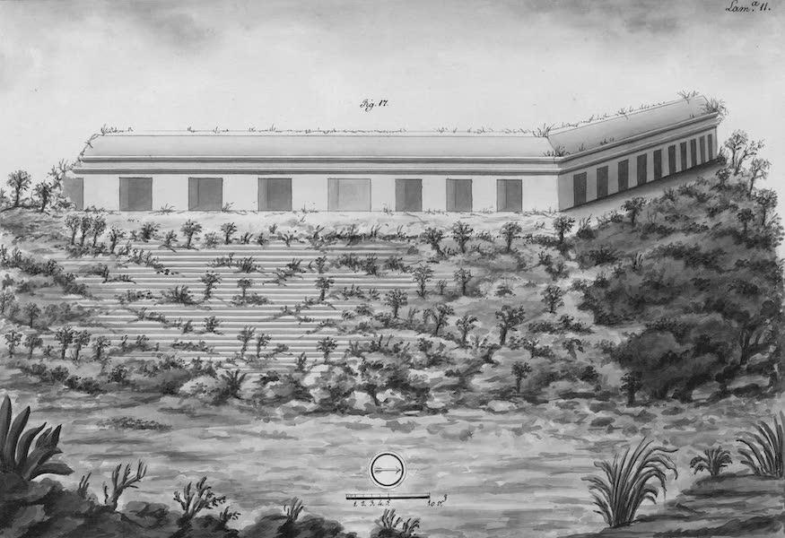 Coleccion General de Laminas de los Antiguos Monumentos de Nueva Espana - Tercer Viage - Lamina 11 (1820)