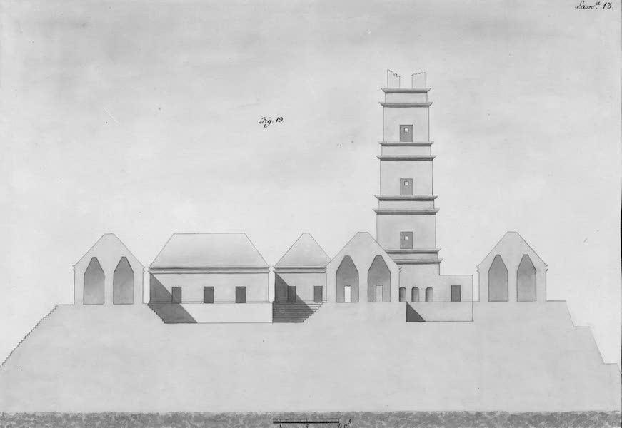 Coleccion General de Laminas de los Antiguos Monumentos de Nueva Espana - Tercer Viage - Lamina 13 (1820)