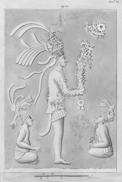 Coleccion General de Laminas de los Antiguos Monumentos de Nueva Espana - Tercer Viage - Lamina 14 (1820)