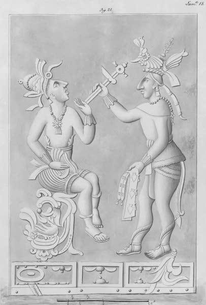 Coleccion General de Laminas de los Antiguos Monumentos de Nueva Espana - Tercer Viage - Lamina 15 (1820)