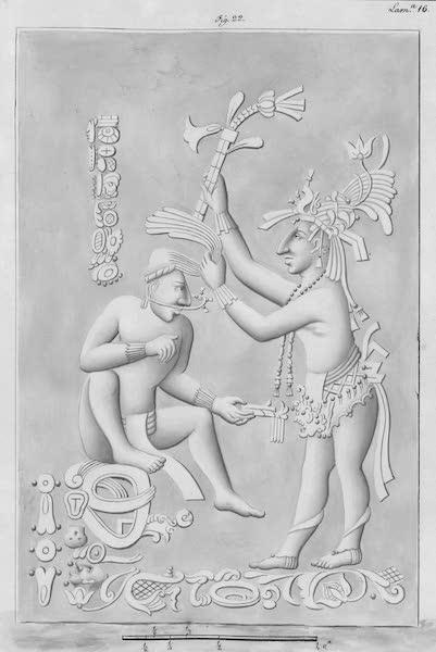 Coleccion General de Laminas de los Antiguos Monumentos de Nueva Espana - Tercer Viage - Lamina 16 (1820)