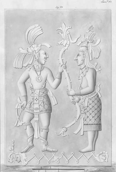 Coleccion General de Laminas de los Antiguos Monumentos de Nueva Espana - Tercer Viage - Lamina 17 (1820)