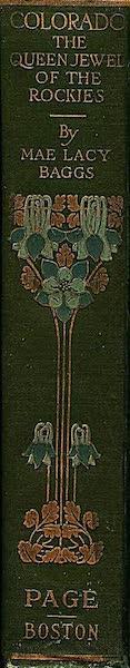 Colorado, The Queen Jewel of the Rockies - Spine (1918)