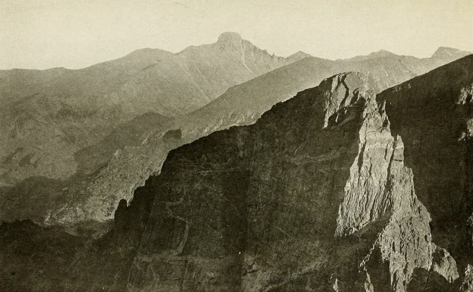 """Colorado, The Queen Jewel of the Rockies - """"The cataclysmal work of the Master Fates"""" (1918)"""