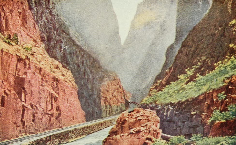 Colorado, The Queen Jewel of the Rockies - The Royal Gorge (1918)