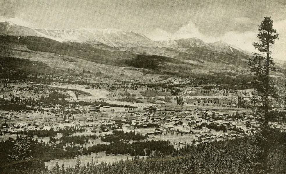 Colorado, The Queen Jewel of the Rockies - Breckenridge, on the Blue River (1918)