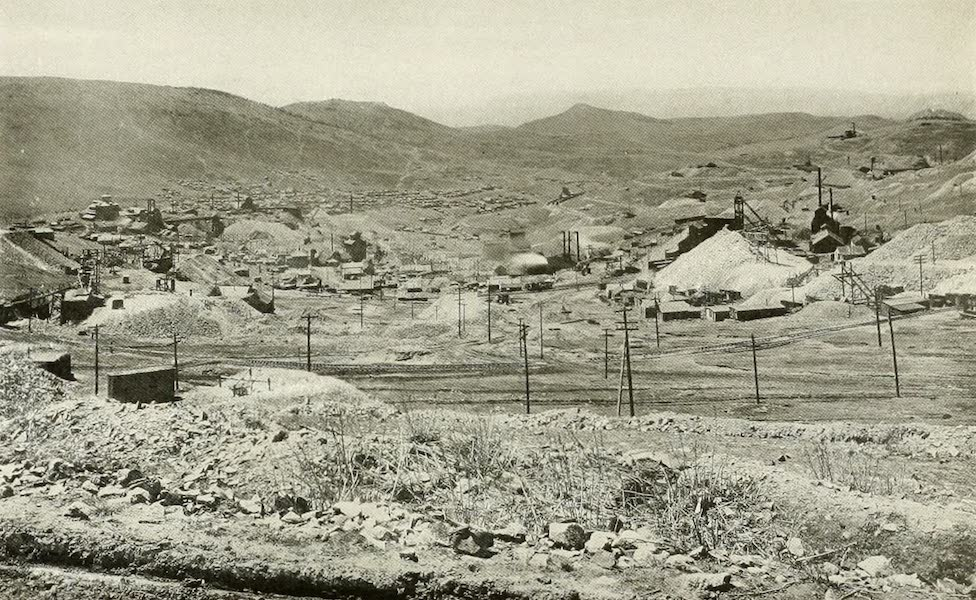 Colorado, The Queen Jewel of the Rockies - View from Bull's Hill of Cripple Creek, the richest Gulch in the world (1918)