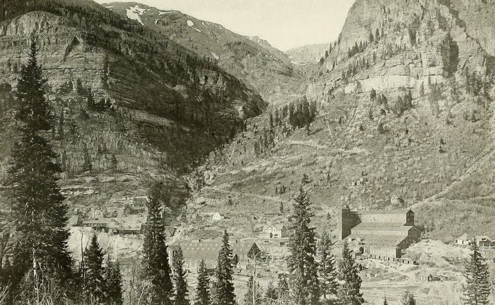 Colorado, The Queen Jewel of the Rockies - The Smuggler-Union, Liberty Bell and Tom-Boy Mills, near Telluride (1918)