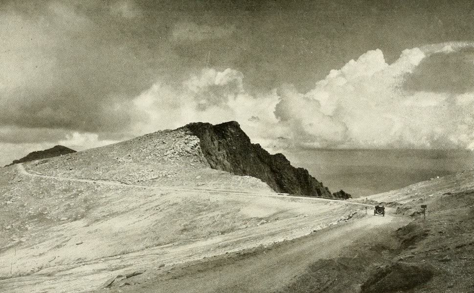 Colorado, The Queen Jewel of the Rockies - On the Pike's Peak Automobile Highway (1918)