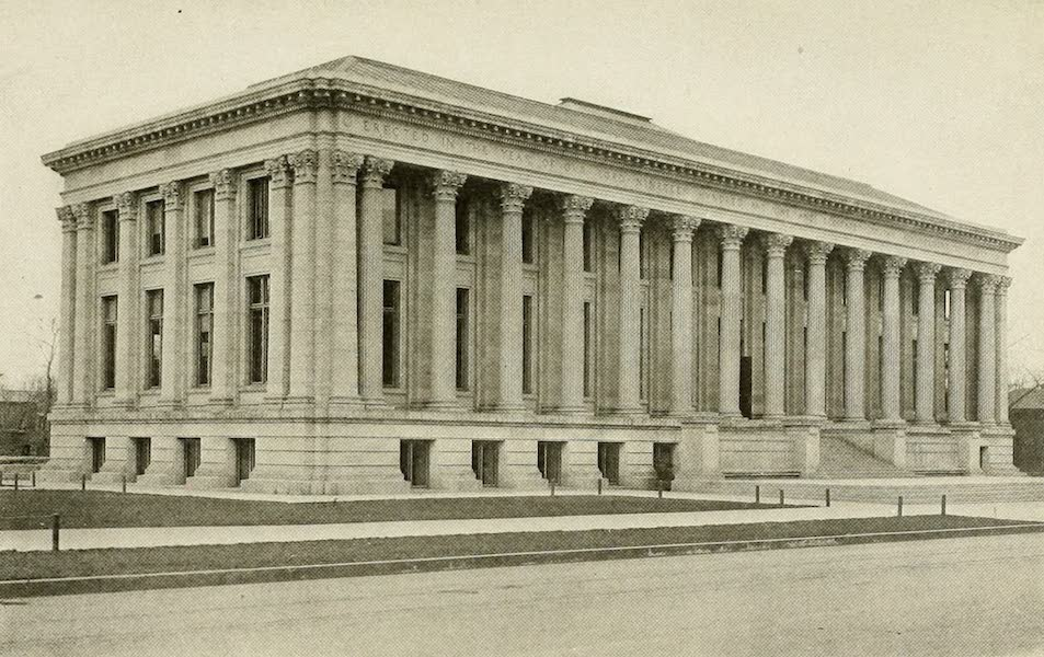 Colorado, The Queen Jewel of the Rockies - The Public Library, Denver (1918)