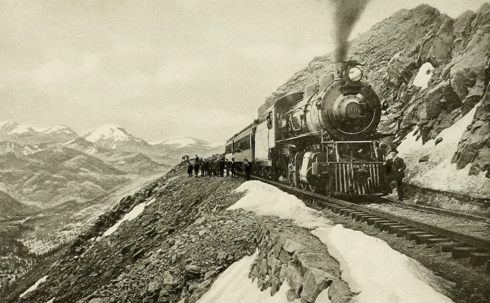 Colorado, The Queen Jewel of the Rockies - The Crest of the Continental Divide at Corona (1918)
