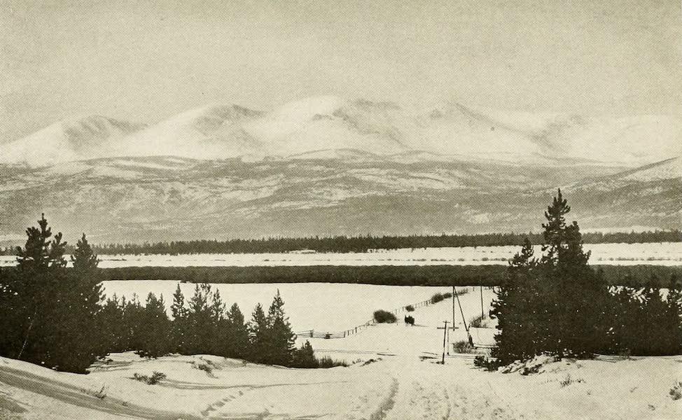 Colorado, The Queen Jewel of the Rockies - Mount Massive in Winter (1918)
