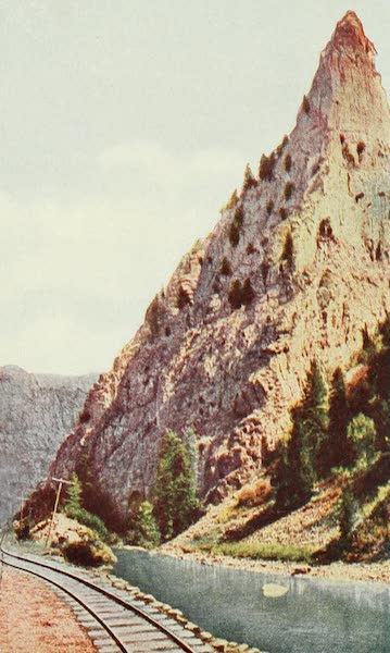 Colorado, The Queen Jewel of the Rockies - Curecanti Needle, Black Canyon of the Gunnison (1918)